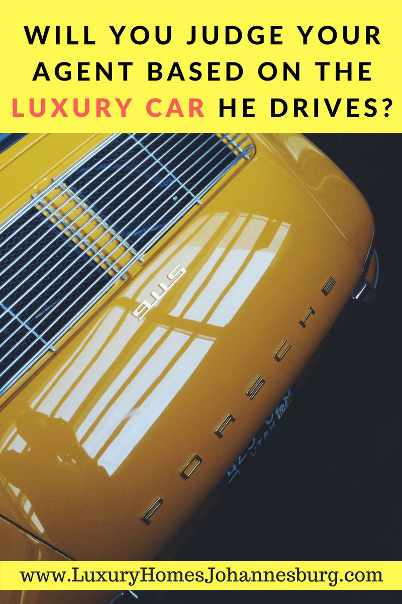 Judging of Real Estate Agents Driving Luxury Cars